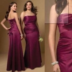 NWT Alfred Angelo 7006 BERRY Bridesmaid's Dress 14